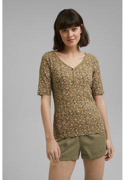 edc by Esprit - COO - T-Shirt print - light khaki