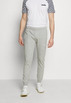 Diadora - CUFF PANTS CORE - Jogginghose - light middle grey melange