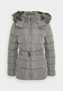 New Look Tall - FITTED PADDED PUFFER - Winterjas - dark grey