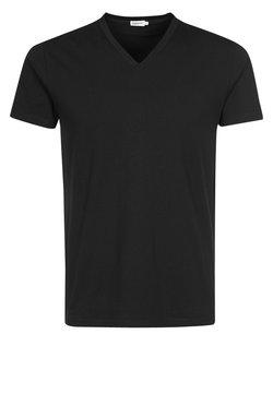 Filippa K - SOFT LYCRA NECK - T-Shirt basic - black
