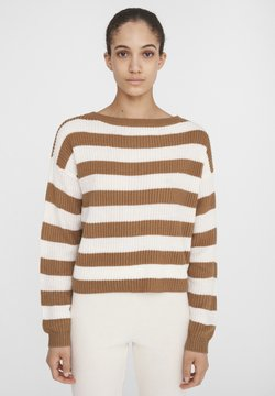 Noisy May - Strickpullover - beige/ camel