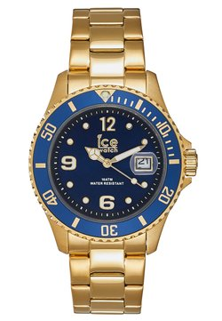Ice Watch - Klocka - gold-coloured/blue