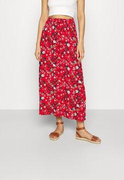 Vero Moda - VMSIMPLY EASY SKIRT - Jupe longue - goji berry