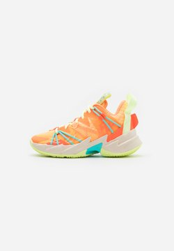 Jordan - WHY NOT ZER0.3 SE UNISEX - Zapatillas de baloncesto - light liquid lime/black/psychic purple/pink blast/white/amarillo