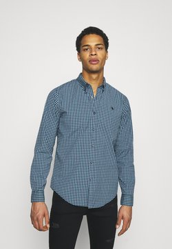 Abercrombie & Fitch - SPRING ICON - Hemd - green gingham