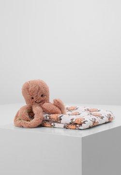 Jellycat - ODELL OCTOPUS GIFT SET - Geschenk zur Geburt - apricot