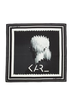 KARL LAGERFELD - Écharpe - black/ white