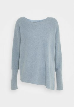 Repeat - SWEATER - Strickpullover - dusty blue
