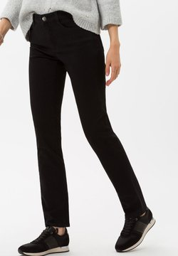 BRAX - STYLE MARY - Slim fit jeans - clean black black
