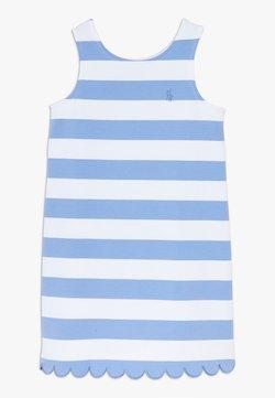 Polo Ralph Lauren - PONTE - Jerseykleid - harbor island blue/white