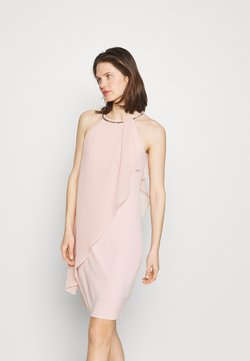 Esprit Collection - ASYM DRESS - Cocktail dress / Party dress - nude