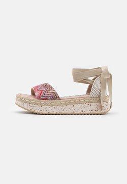 Wonders Green - Korkeakorkoiset sandaalit - tonga pink