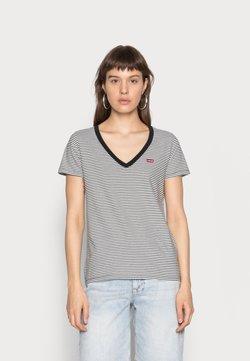 Levi's® - PERFECT V NECK - T-Shirt print - cloud dancer