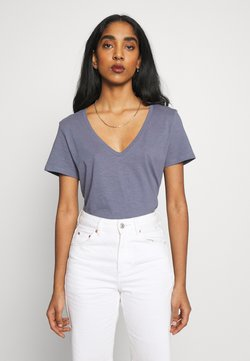 Cotton On - THE DEEP  - Basic T-shirt - grisaille