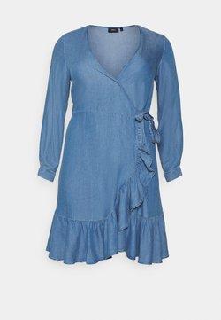 Zizzi - MDYA DRESS - Kjole - mid blue denim