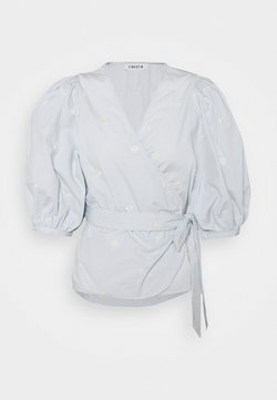 EDITED - VIOLETA - Bluse - light blue
