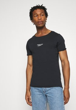 Jack & Jones - JORSIMON TEE CREW NECK  - T-shirt z nadrukiem - tap shoe