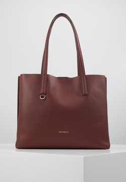 Coccinelle - MATINEE - Shopping Bag - marsala/cherry