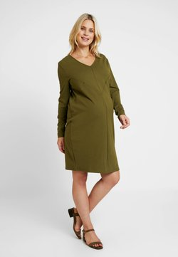 Gebe - DRESS GEOMETRY - Jerseyjurk - khaki