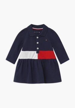 Tommy Hilfiger - BABY BLOCK - Korte jurk - blue