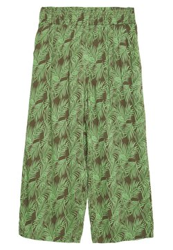 Noisy May - NMFLORA NM CULOTTE PANT - Trousers - kalamata/green ash