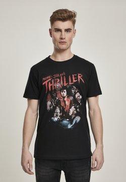 Mister Tee - HERREN MICHAEL JACKSON THRILLER ZOMBIES - T-Shirt print - black