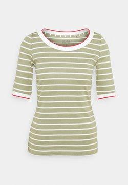 Esprit - TEE - T-Shirt print - light khaki