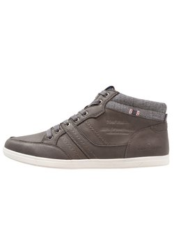 TOM TAILOR - Sneaker high - coal