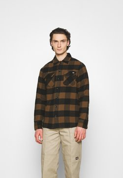 Dickies - NEW SACRAMENTO - Hemd - brown duck