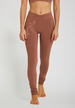 Yogasearcher - Tights - camel