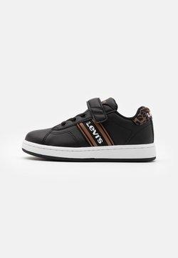 Levi's® - BRANDON - Sneakers laag - black/brown