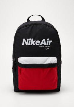 Nike Sportswear - AIR HERITAGE - Sac à dos - black/university red/white
