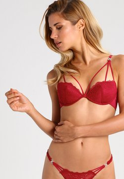 LASCANA - TEMPTATION - Biustonosz push-up - red