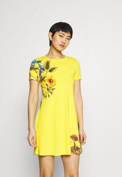 Desigual - LAS VEGAS - Vestido ligero - yellow