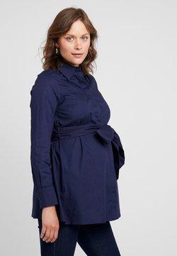 IVY & OAK Maternity - MATERNITY FLARED - Overhemdblouse - winter true blue