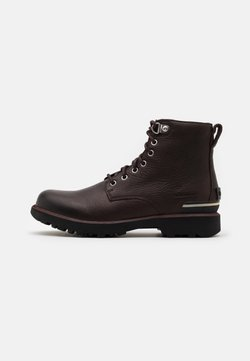 Sorel - CARIBOU SIX WP - Schnürstiefelette - blackened brown