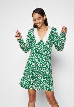Monki - NOOMI DRESS - Skjortekjole - green