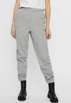 Vero Moda - NATALIE - Jogginghose - light grey melange