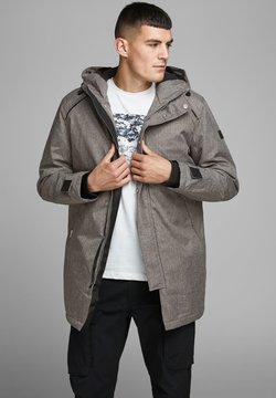 Jack & Jones - JCOFIGURE - Parka - grey melange