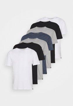 Newport Bay Sailing Club - MULTI TEE MARLS 7 PACK - T-shirts basic - black/white/grey/blue