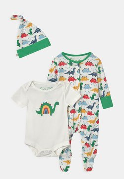 Frugi - RAINBOW DINOS GIFT SET UNISEX - T-Shirt print - multi-coloured