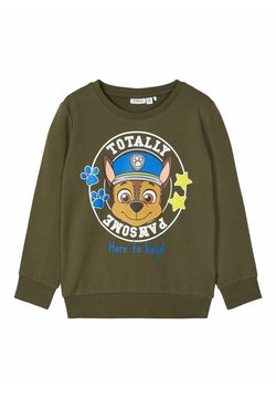 Name it - Sweater - olive night
