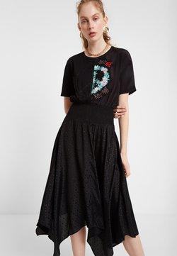 Desigual - VEST NOOSA - Robe d'été - black