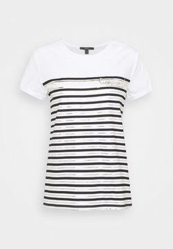Esprit Collection - LOVE STRIPE  - T-Shirt print - off white