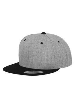 Flexfit - CLASSIC SNAPBACK 2-TONE - Cap - light grey/black