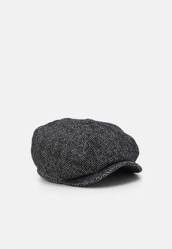 Brixton - BROOD BAGGY SNAP CAP UNISEX - Berretto - black/ white