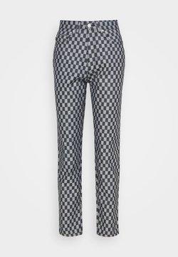 Fiorucci - CHECKERBOARD - Jeans Straight Leg - light vintage