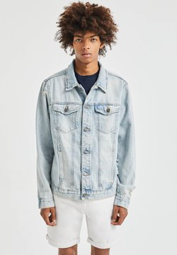 PULL&BEAR - Farkkutakki - light-blue denim