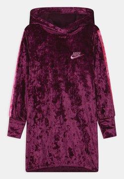 Nike Sportswear - HOOD - Freizeitkleid - bordeaux pure