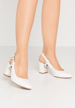 Anna Field - LEATHER CLASSIC HEELS - Pumps - white